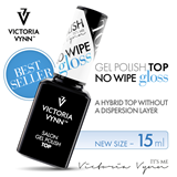 Show details for VICTORIA VYNN TOP NO WIPE GLOSS 15 ML