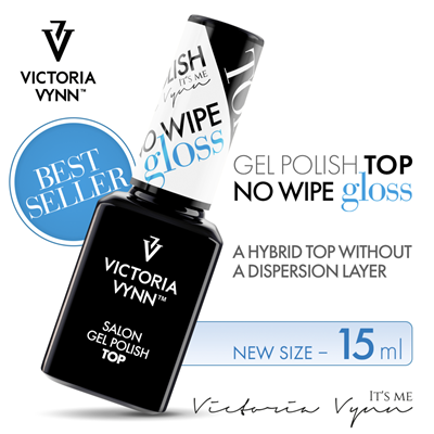 Picture of VICTORIA VYNN TOP NO WIPE GLOSS 15 ML