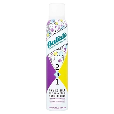 Picture of BATISTE INVISIBLE DRY SHAMPOO AND CONDITIONER 200 ML
