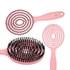 Picture of ILU HAIR BRUSH LOLLIPOP PINK