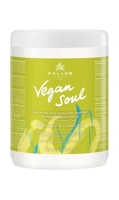 Picture of KALLOS VEGAN SOUL NOURISHING HAIR MASK 1000ML