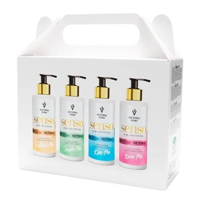 Picture of VYCTORIA VYNN SENSO HAND AND BODY MOISTURIZING CREAM SET 4X250ML