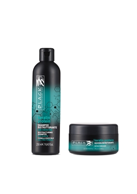 Picture of BLACK PROFESSIONAL LINE KERATIN PROTEIN SET