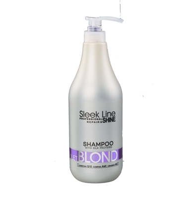 Picture of STAPIZ SLEEK LINE VIOLET BLOND SHAMPOO 1000ML