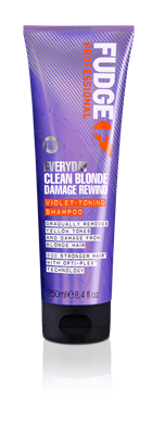 Picture of FUDGE EVERYDAY CLEAN BLONDE DAMAGE REWIND VIOLET-TONING SHAMPOO 250ML