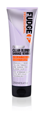 Picture of FUDGE EVERYDAY CLEAN BLONDE DAMAGE REWIND VIOLET-TONING CONDITIONER 250ML