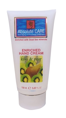Picture of ABSOLUTE CARE ENRICHED HAND CREAM KIVI AND PEAR 150 ML
